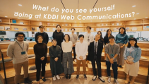KDDI Web Communications リクルートPV